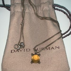 David Yurman Châtelaine Pendant with Diamonds